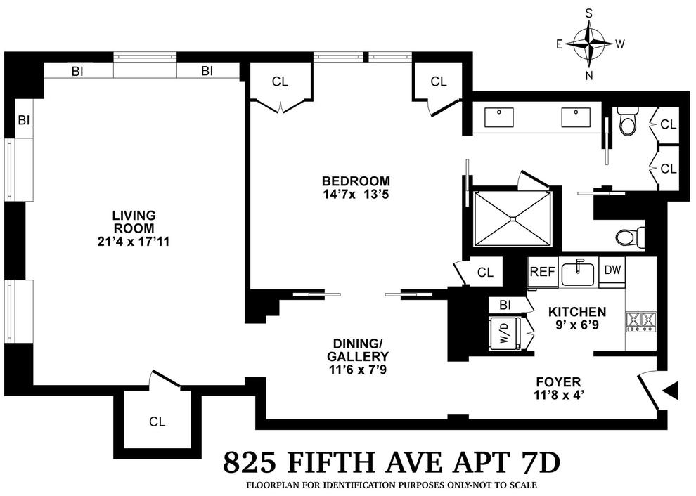 Unit 7D at 825 5th Avenue, New York, NY 10065