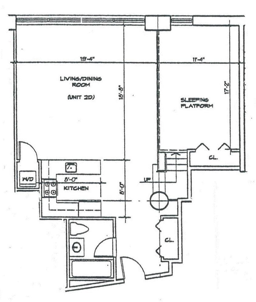 Unit 2D at 689 Myrtle Avenue, Brooklyn, NY 11205