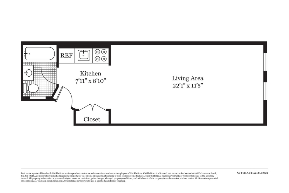Unit 3C at 203 East 89th Street, New York, NY 10128