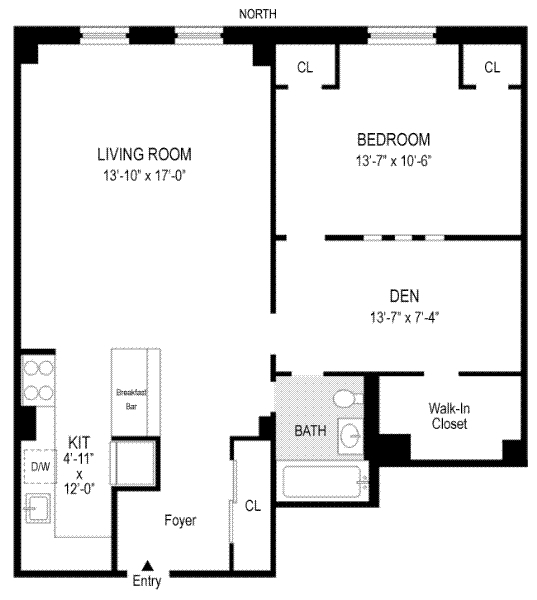 Unit 112 at 40 West 72nd Street, New York, NY 10023