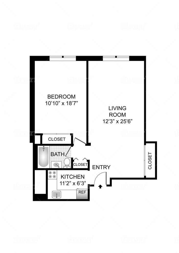 Unit 7C at 45 Overlook Terrace, New York, NY 10033