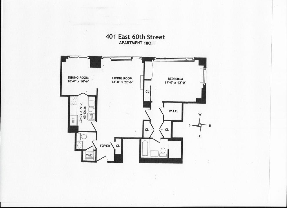 Unit 18C at 401 East 60th Street, New York, NY 10022
