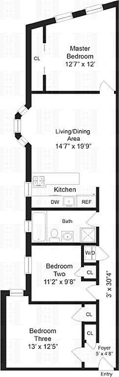 Unit 204 at 4260 Broadway, New York, NY 10033