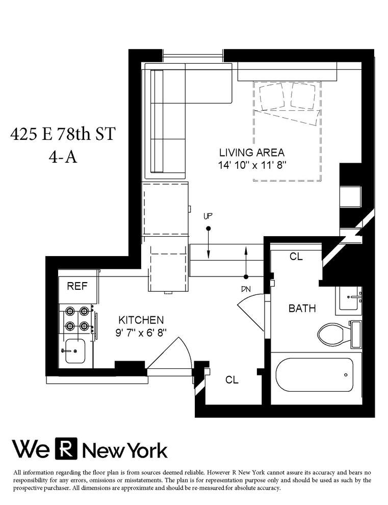 Unit 4A at 425 East 78th Street, New York, NY 10075