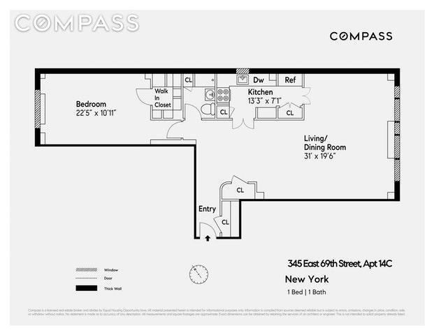 Unit 14C at 345 East 69th Street, New York, NY 10021