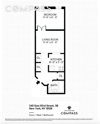 Unit 3B at 340 East 83rd Street, New York, NY 10028
