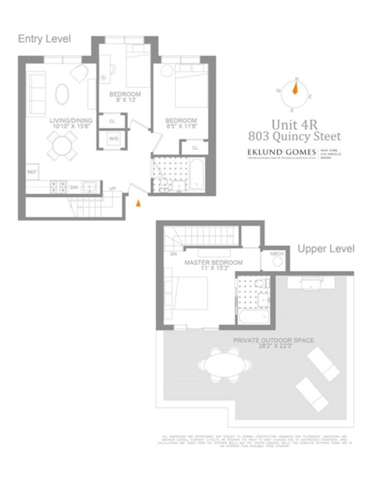 Unit 4A at 803 Quincy Street, Brooklyn, NY 11221