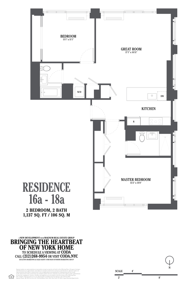 Unit 18A at 385 1st Avenue, New York, NY 10010